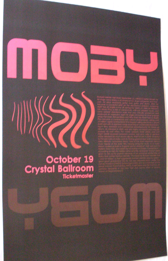 Show 2011 Moby