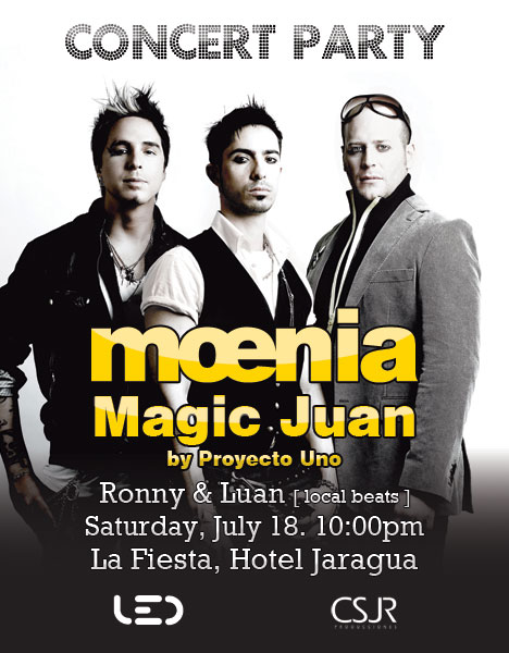 Moenia Chicago Tickets
