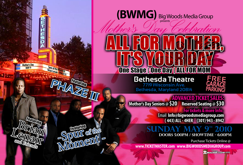 Mothers Day Concert Liacouras Center