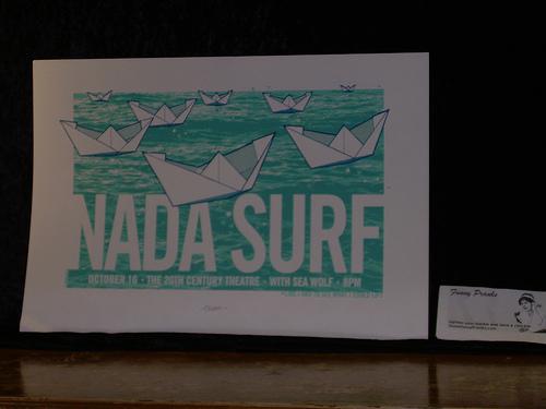 Concert Nada Surf