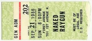 Naked Raygun 2011 Dates