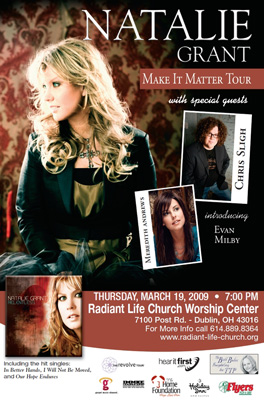 Tour 2011 Dates Natalie Grant