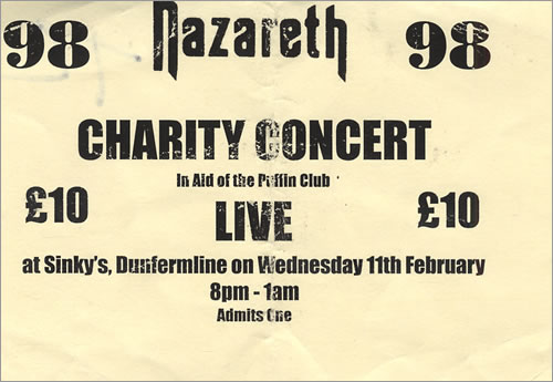 Nazareth Dates Tour 2011
