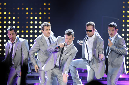 Dates New Kids On The Block Tour 2011