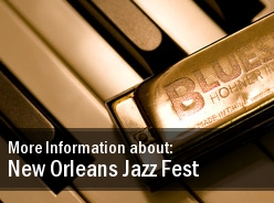 2011 Dates New Orleans Jazz Festival