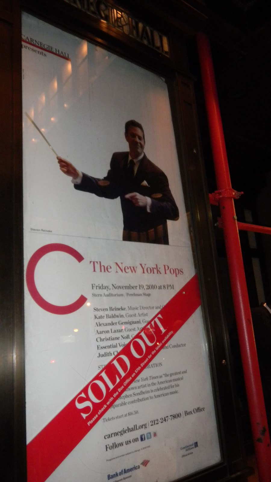 New York Pops Carnegie Hall Isaac Stern Auditorium
