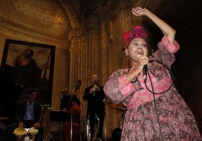 2011 Tour Dates Omara Portuondo