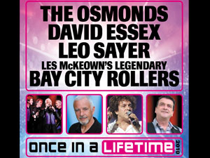Once In A Lifetime Motorpoint Arena Tickets