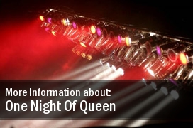 2011 Dates One Night Of Queen