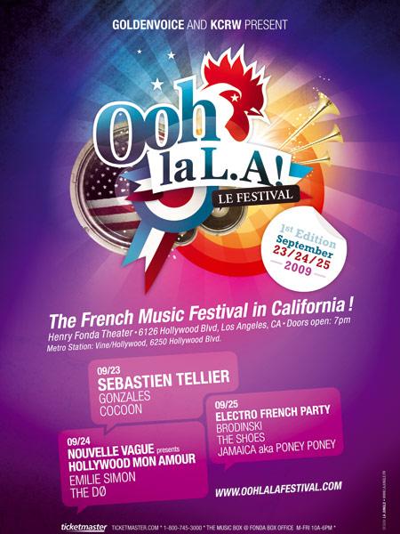 Dates 2011 Tour Oohlala Festival