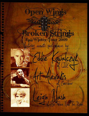 Open Wings Broken Strings 2011 Dates