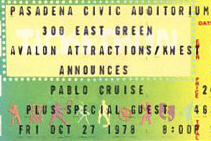 Pablo Cruise Dates 2011 Tour