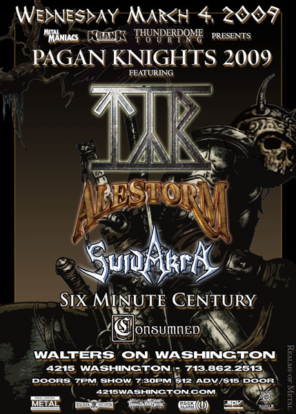 Pagan Knights Tour 2011