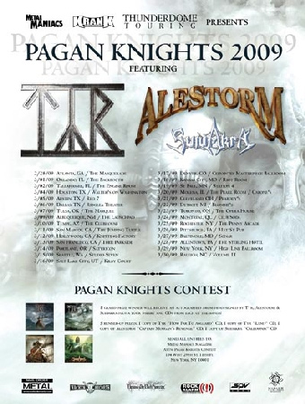 Show 2011 Pagan Knights Tour