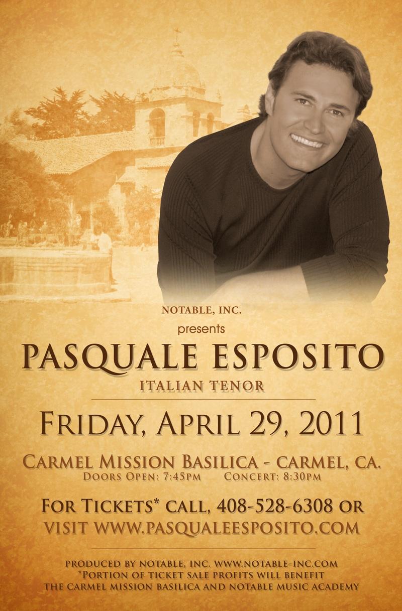 Dates 2011 Tour Pasquale Esposito