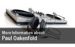 Tickets Paul Oakenfold