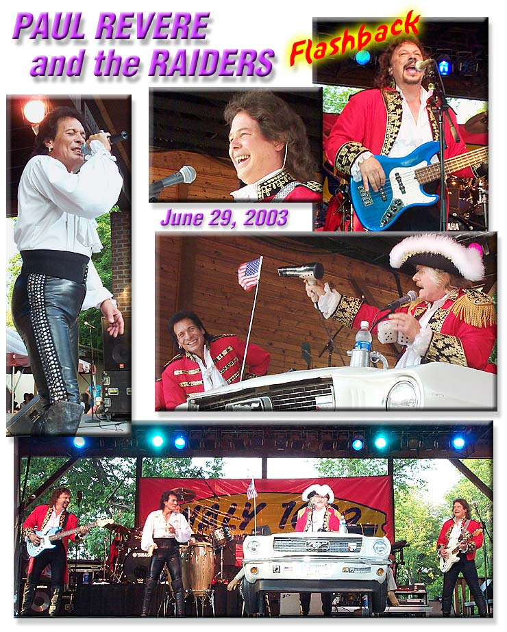 Dates Tour 2011 Paul Revere And The Raiders