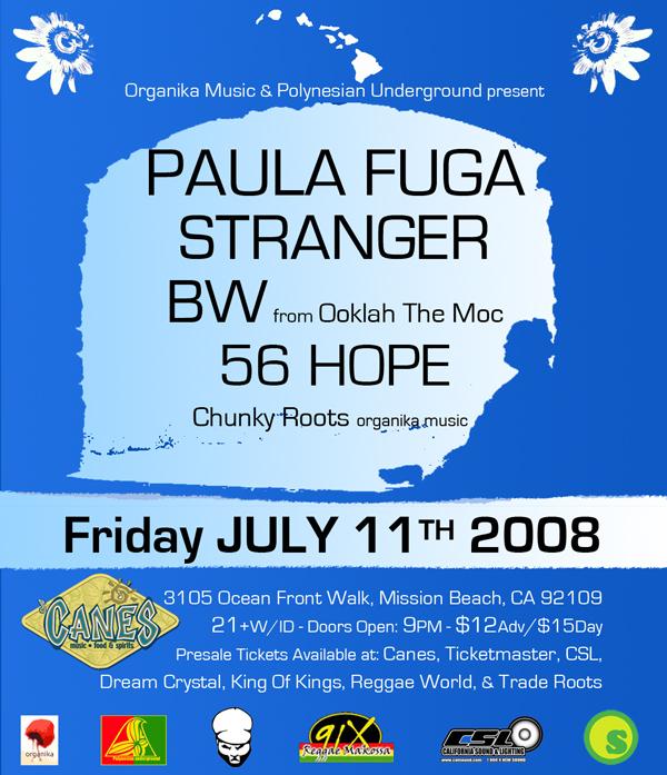 Tickets Paula Fuga