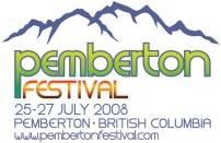 Dates Pemberton Festival 2011