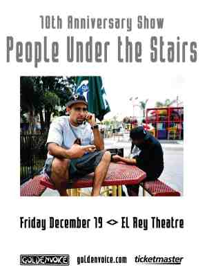 People Under The Stairs Tickets Slims