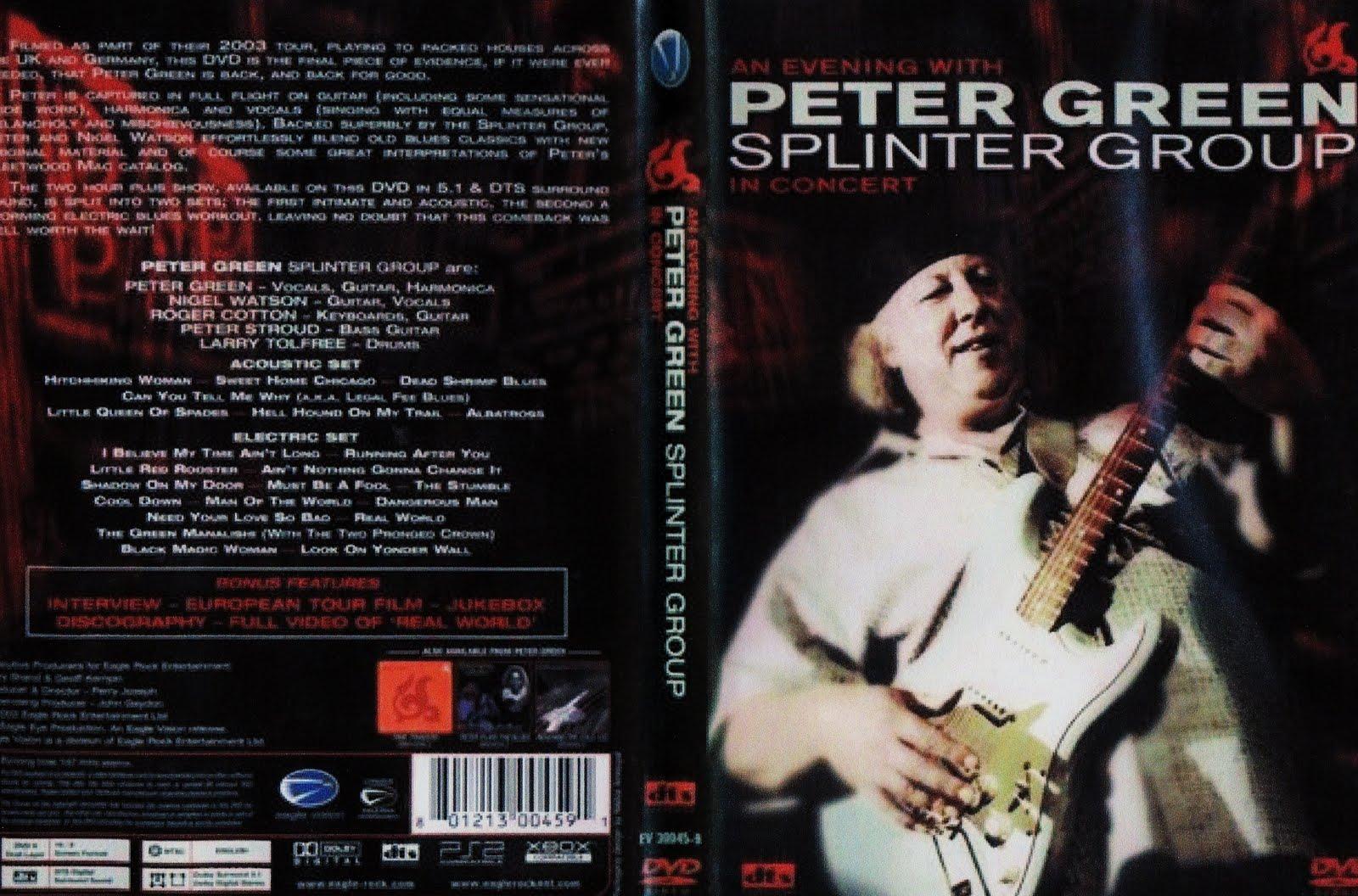 2011 Dates Peter Green