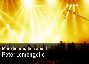 Peter Lemongello Concert