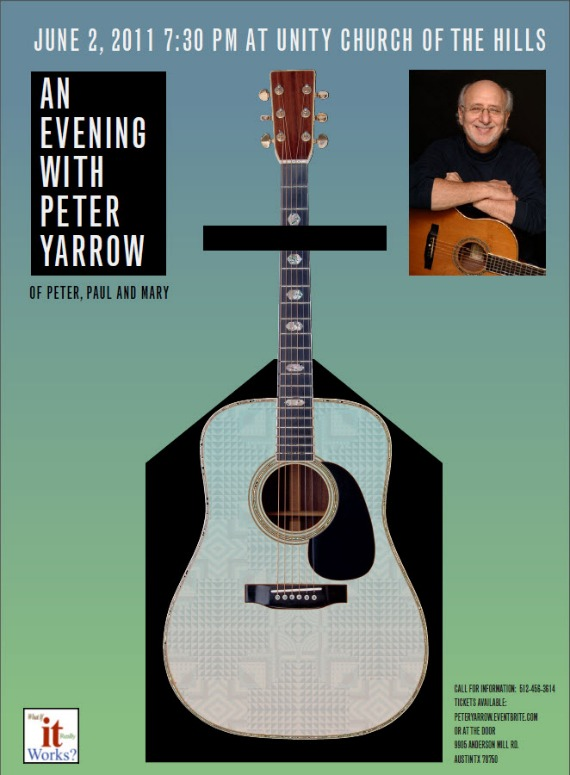 Tickets Show Peter Yarrow