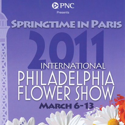 2011 Philadelphia Flower Show Tour Dates
