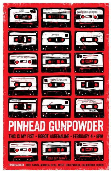 Pinhead Gunpowder Tickets Anaheim