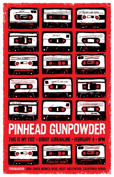 Pinhead Gunpowder Tickets Anaheim