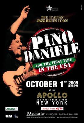 Tour 2011 Dates Pino Daniele