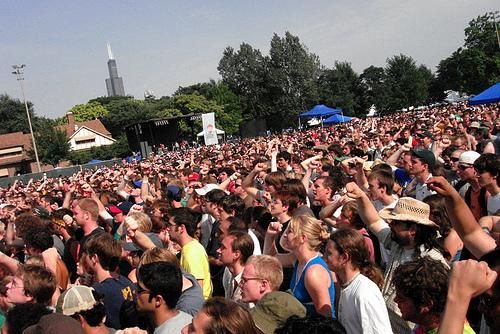 Pitchfork Music Festival Concert