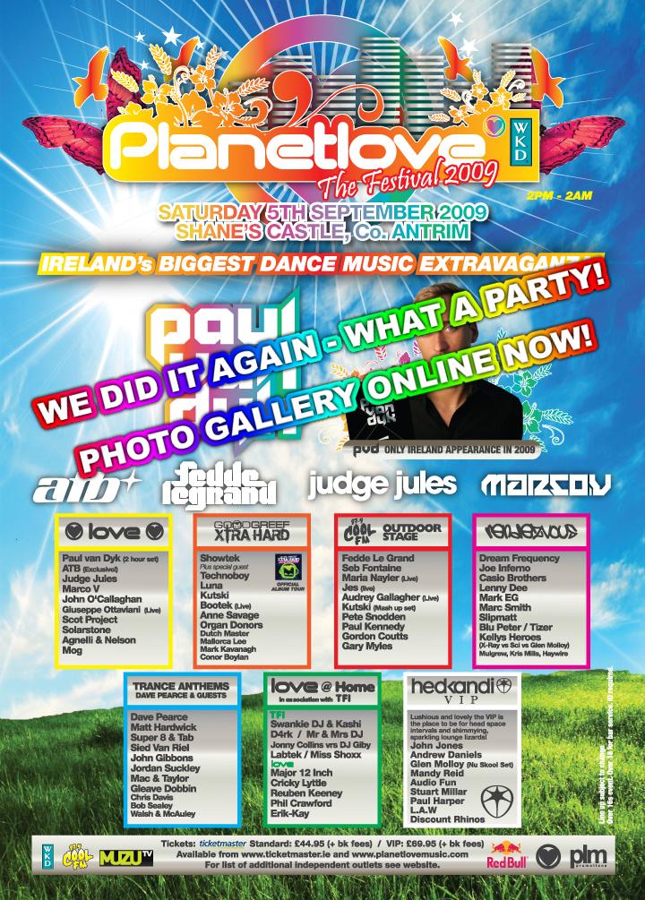 2011 Show Planetlove   The Festival