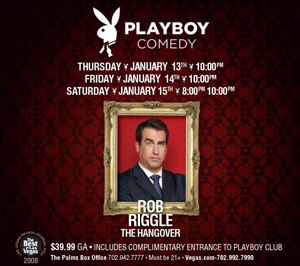 Playboy Comedy Rain Nightclub Palms Casino Resort Tickets