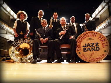 Dates Preservation Hall Jazz Band 2011 Tour