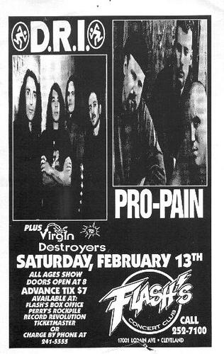 Dates Pro Pain 2011