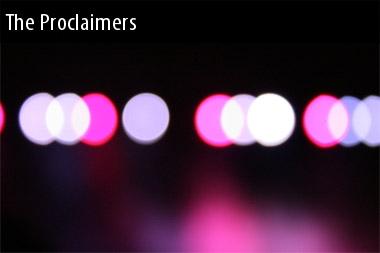 Proclaimers Show 2011
