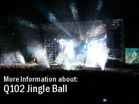 Q102 Jingle Ball 2011 Show