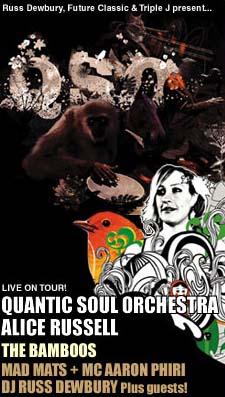 Quantic Soul Orchestra Concert