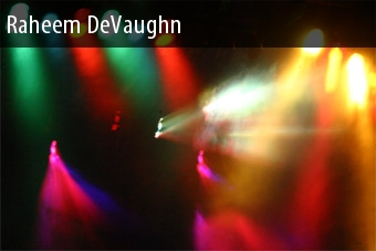 Tour 2011 Raheem Devaughn Dates