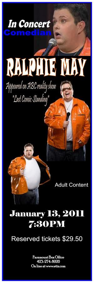 Ralphie May 2011 Show