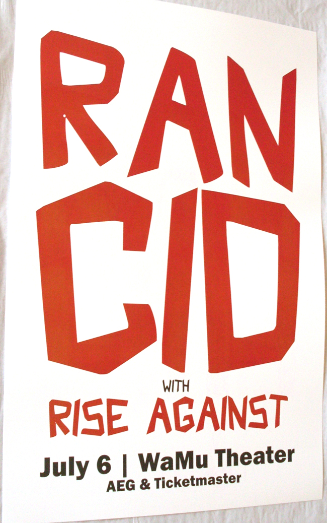 Dates Rancid Tour 2011