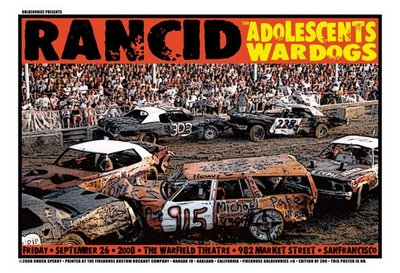 Dates Tour 2011 Rancid