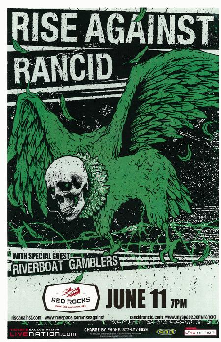 Tickets Show Rancid