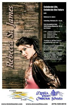 Rebecca St James Fargo Tickets