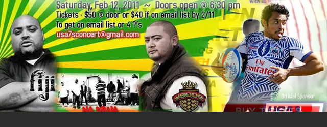 2011 Reggae Bash Tour Dates