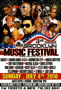 Reggae Carifest Show 2011