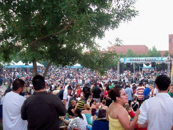 Reggae In The Desert Concert
