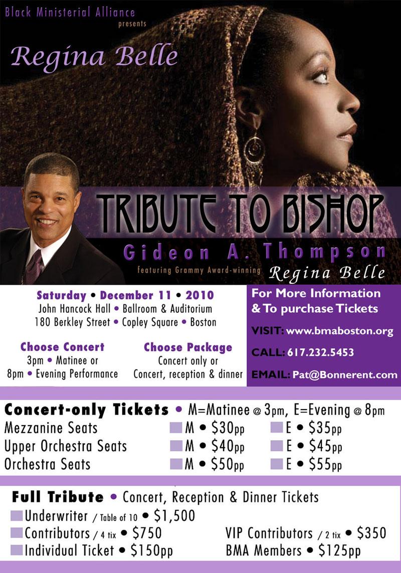 Dates 2011 Regina Belle