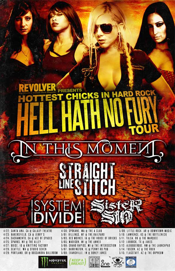 Revolver Magazine Tour Tour 2011 Dates